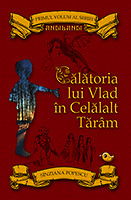 """Coperta primei ediții a romanului """"Călătoria lui Vlad în Celălalt Tărâm"""""""