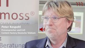 Peter Kespohl Experte Newsroom Mediamoss Video