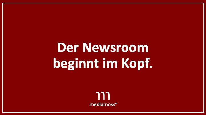 Mediamoss Newsroom Wiki: Der Newsroom beginnt im Kopf.