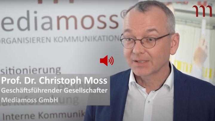 Professor Christoph Moss Mediamoss CvD