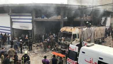 إصابة 6 مدنيين كحصلية أولية في تفجير الباب