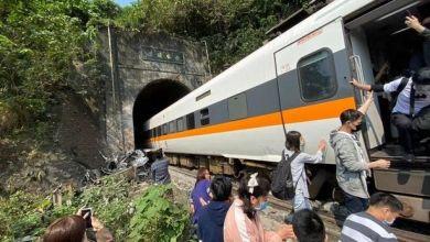 مقتل 36 شخصا وإصابة 72 نتيجة خروج قطار عن مساره في تايوان