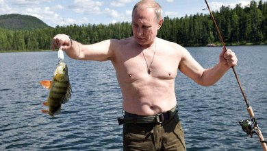 بوتين الرجل الأكثر جاذبية في روسيا
