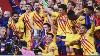 برشلونة يسحق أتلتيك بلباو برباعية ويتوج بكأس إسبانيا
