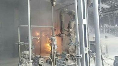 اندلاع حريق في مصفاة حمص وسط سوريا دون معرفة الأسباب