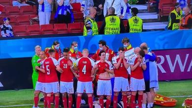 فنلندا تستغل إصابة إريكسن وتفوز على الدنمارك