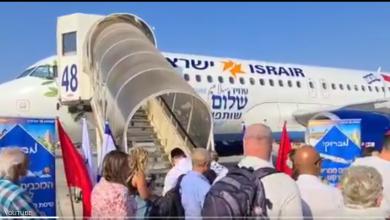 المغرب تستقبل أول طائرة إسرائيلية بعد التطبيع