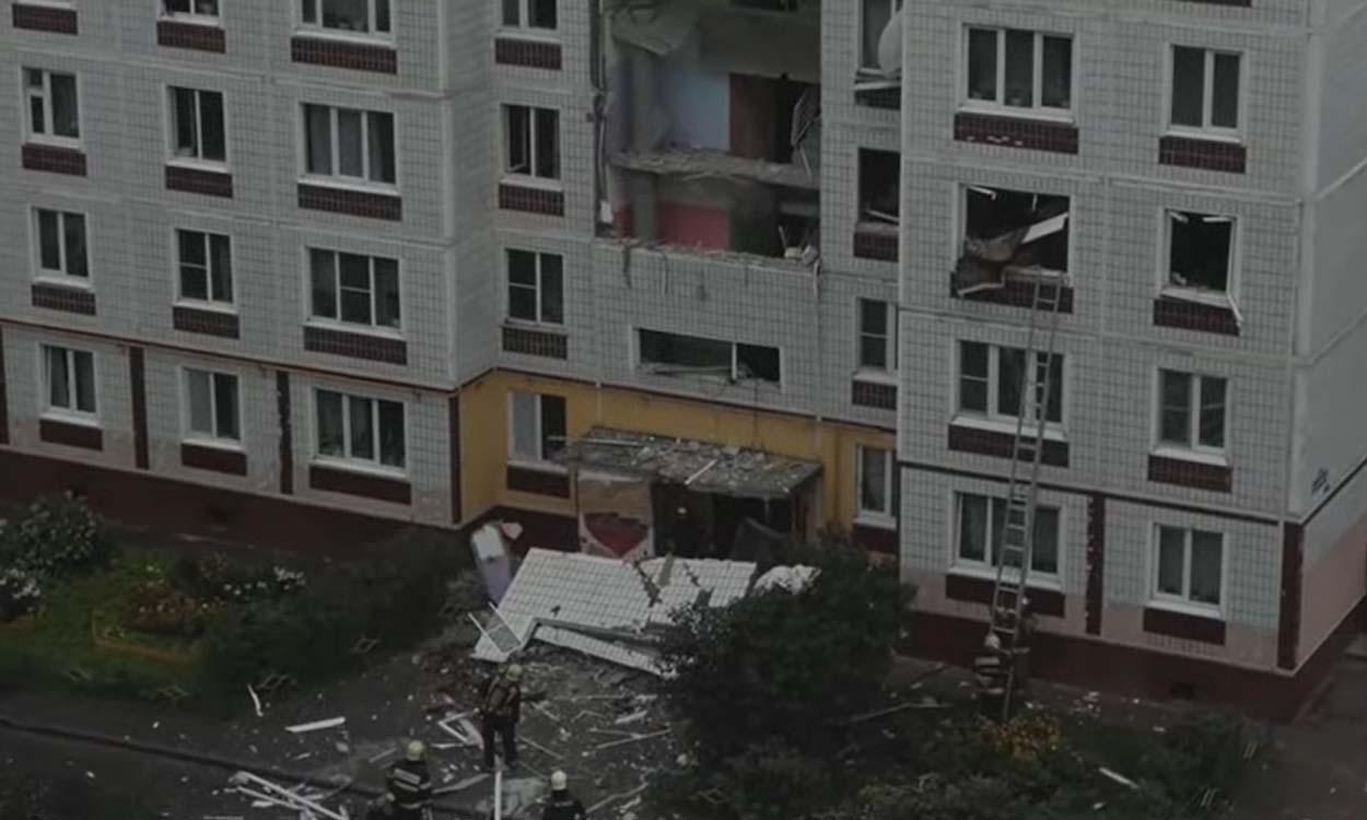 """مقــ.ـتل شخـ.ـصين جراء انفجـ.ـار الحق الضرر في 24 شقة بـ """"موسكو"""""""