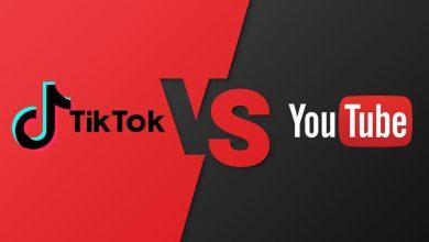 للمرة الأولى.. تيك توك يتفوق على يوتيوب