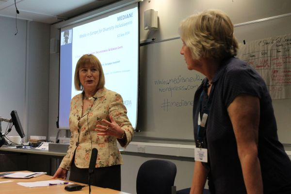 MEP Mary Honeyball on the representation of women in the media with Anna McKane