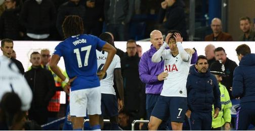 Everton vs Tottenham Hotspur 1-1 Highlights