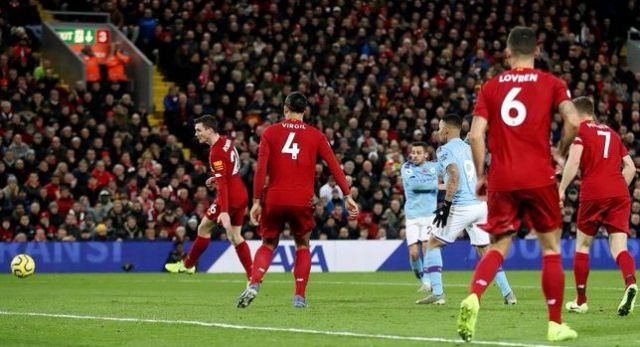 Liverpool vs Manchester City 3-1 Highlights