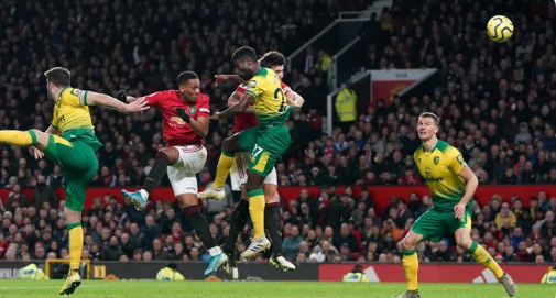 Manchester United vs Norwich City 4-0 Highlights