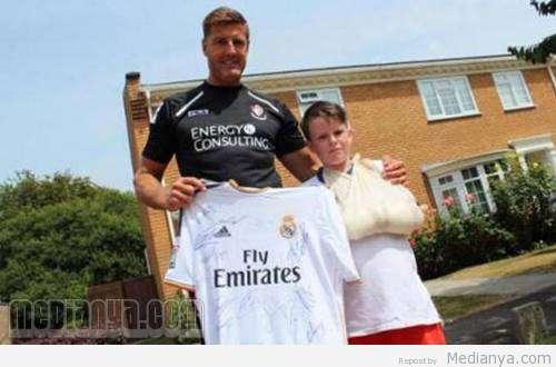 Charlie Silverwood Korban Tendangan Cristiano Ronaldo