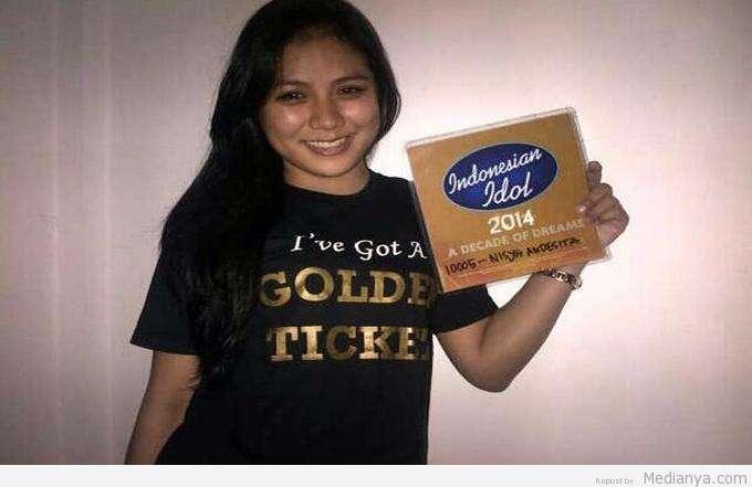 Andes Banjarmasin Golde Tiket Indonesian Idol 2014