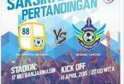Barito Putera VS Gresik United 2015