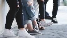 Bau Kaki Pada Sepatu