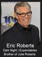 Eric Roberts - brother of Julia Roberts