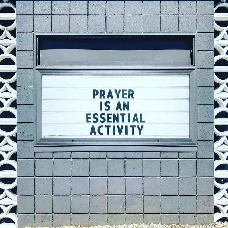 PRAYER IS AN ESSENTIAL ACTIVITY - METRO CHURCH