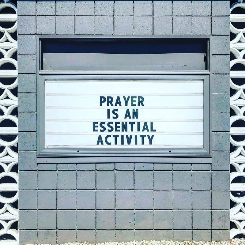 PRAYER IS AN ESSENTIAL ACTIVITY - METRO CHURCH