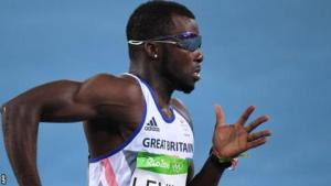 GB sprinter Levine suspended after failing drugs test