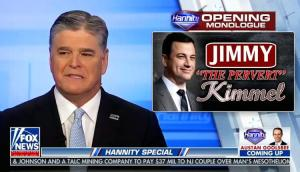 Sean Hannity dredges up old tapes of Jimmy Kimmel in ongoing feud