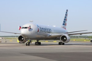 American Airlines arrives in Prague, Czech Republic, for first time