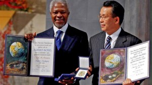 'Guiding force for good': Tributes paid to Kofi Annan
