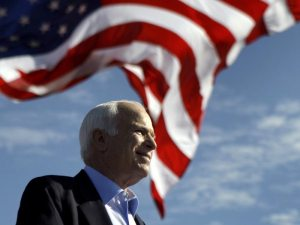 Trump makes U-turn and lowers White House flag out of 'respect' for John McCain