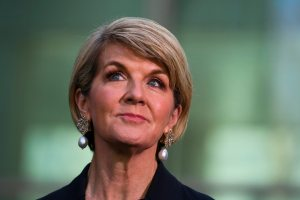 Julie Bishop condemns 'appalling' culture in Canberra