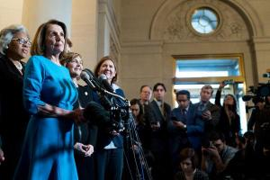 Democrats Nominate Pelosi to Be Speaker but With Significant Defections