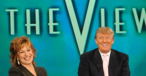 Joy Behar: I Liked Trump Before Politics, But 'Who Knew He Was Such A Psycho?'