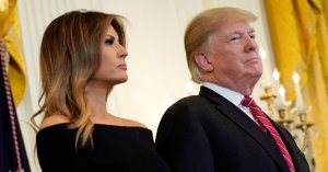 Melania Trump Calls Journalists 'Opportunists' Piggybacking On Husband's Fame