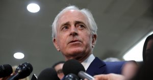 Bob Corker Is Unsure If Trump Should Be Primaried In 2020