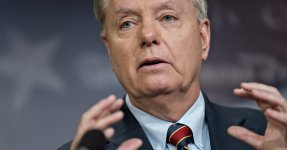 Lindsey Graham Praises Trump Over Shutdown: 'Glad He Picked This Fight'