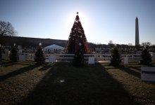 National Christmas Tree Dark Due To Government Shutdown