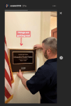 Alexandria Ocasio-Cortez Just Hung Her Office Plaque, And Things Are Getting Real