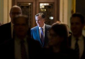 Mitt Romney Says 'Trumps Character Falls Short' In Blistering Op-Ed