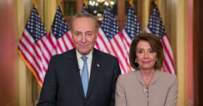 Pelosi And Schumer Become Instant Memes After Response To Trump's Border Wall Speech