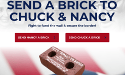 Donald Trump Sparks Anger With 'Send A Brick' To Nancy Pelosi And Chuck Schumer Campaign