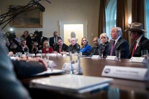 In a West Wing in Transition, Trump Tries to Stand Firm on the Shutdown