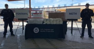 Customs And Border Protection Makes Largest Fentanyl Bust In Agency's History