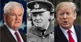 Newt Gingrich's Winston Churchill Defense Of Donald Trump's 'Executive Time' Backfires