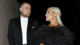 Ariana Grande Hugs Mac Miller's Dog After Her GRAMMYs Win