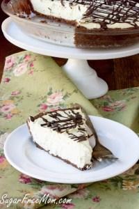 Sugar-Free Grasshopper Pie (Keto, Low Carb, Nut Free)