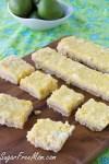 Sugar Free Low Carb Coconut Lime Bars