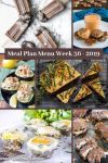 Low Carb Keto Meal Plan Menu Week 36