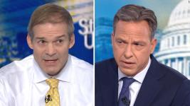 Rep. Jim Jordan made false and misleading claims about the unfolding Ukraine drama that has led to an impeachment inquiry. Jake Tapper wasn't having it.