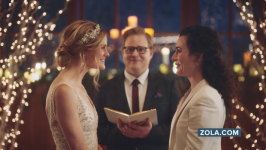 Hallmark under fire for pulling TV ads showing same-sex couple