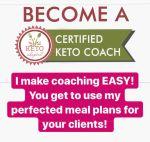 Keto Coaching Program January 2020 Enrollment NOW OPEN!